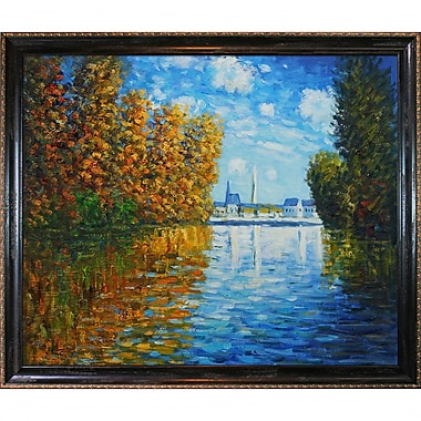 Wildon Home Autumn at Argenteuil by Claude Monet Framed Painting