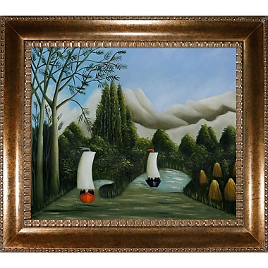 Tori Home Rousseau Bankes of The Oise Framed Painting