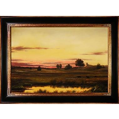Tori Home Heade Sunset Rhode Island Framed Painting
