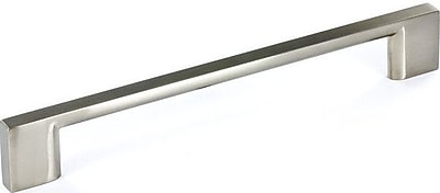 Richelieu 6 3/10'' Center Bar Pull; Brushed Nickel