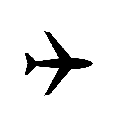Dana Decals Tiny Airplanes Wall Decal (Set of 50)