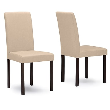 Wholesale Interiors Baxton Studio Side Chair (Set of 4); Beige