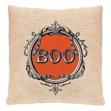 Heritage Lace Halloween Frames Throw Pillow