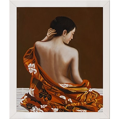 Tori Home Tiger Lily Framed Painting Print