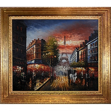 Tori Home Au Revoir To The Light or Paris II Framed Painting Print