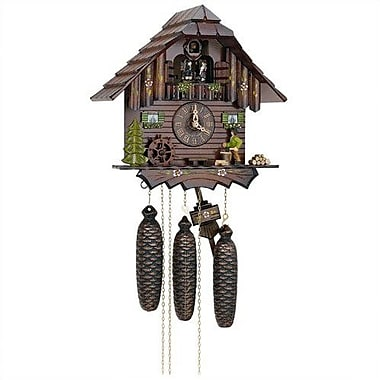 Schneider 12.5'' 8-Day Movement Cuckoo Clock w/ Wood Chopper