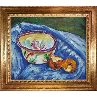 Tori Home Chicken in a Nest by Alfred Henry Maurer Framed Painting Print