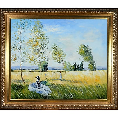 Tori Home 'Summer' by Claude Monet Framed Oil Painting Print on Canvas