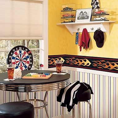 Brewster Home Fashions Kidding Around Flame Wall Mural