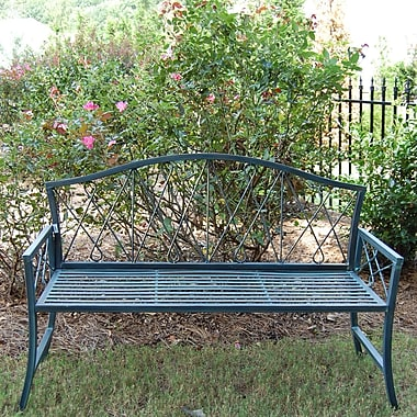 Griffith Creek Designs Mimosa Steel Garden Bench