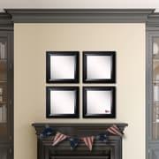 Rayne Mirrors Ava Angle Wall Mirror (Set of 4)