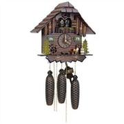 Schneider 12.5'' Cuckoo Clock w/ Beer Drinker and Dancing Figurines