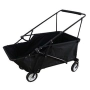 ImpactCanopy Folding Wagon Utility Cart; Black