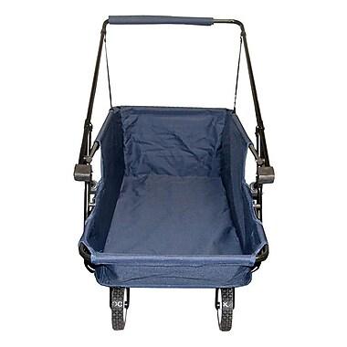ImpactCanopy Folding Wagon Utility Cart; Blue