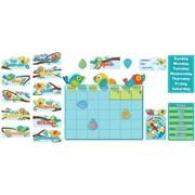 Boho Birds Calendar Grades PK-3 Bulletin Board Set (110234)