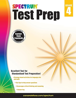 Spectrum Spectrum Test Prep Grade 4 Workbook (704684)