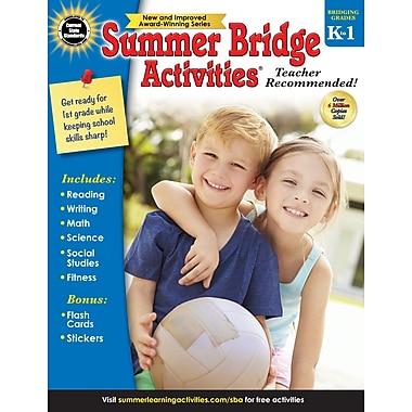 Carson-Dellosa Summer Bridge Activities Summer Bridge Activities and Bridging Grade K and 1 Workbook (704696)