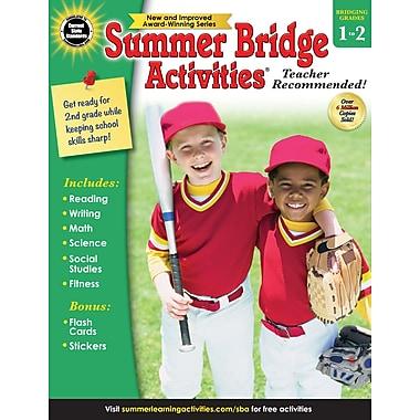 Carson-Dellosa Summer Bridge Activities Summer Bridge Activities and Bridging Grade 1 and 2 Workbook (704697)