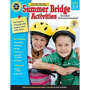 Carson-Dellosa Summer Bridge Activities Summer Bridge Activities and Bridging Grade 2 and 3 Workbook (704698)