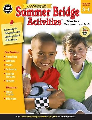 Summer Bridge Activity®, Grades 3-4