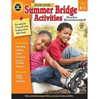 Carson-Dellosa Summer Bridge Activities Summer Bridge Activities and Bridging Grade 4 and 5 Workbook (704700)