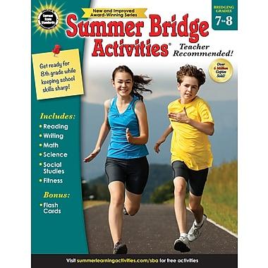 Carson-Dellosa Summer Bridge Activities Summer Bridge Activities and Bridging Grade 7 and 8 Workbook (704703)