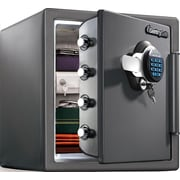 SentrySafe 1.23 cu. ft. Keypad Electronic Fireproof Safe with Extra Large Capacity (SFW123GDC)