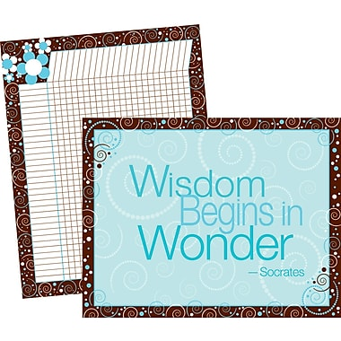 Barker Creek LL-523 Wisdom and Wonder Chart Set