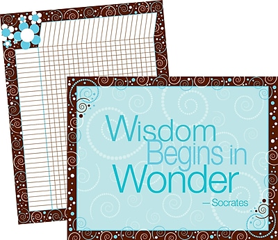 Barker Creek LL-523 Wisdom and Wonder Chart Set