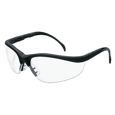 MCR Safety® Klondike® Crews ANSI Z87 Protective Glasses, Anti-Fog, Clear
