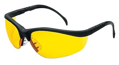 MCR Safety® Klondike® Crews ANSI Z87 Protective Glasses, Amber