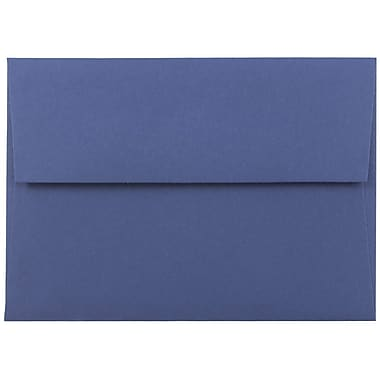 JAM Paper® A6 Invitation Envelopes, 4.75 x 6.5, Presidential Blue, 25/pack (563916906)