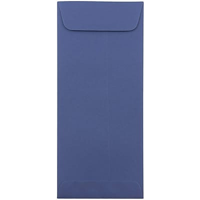 JAM Paper® #10 Policy Envelopes, 4 1/8 x 9 1/2, Presidential Blue, 50/pack (263912999I)