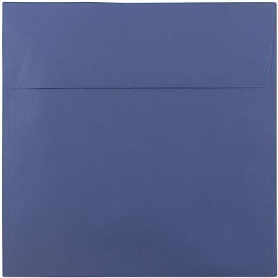 JAM Paper® 8.5 x 8.5 Square Envelopes, Presidential Blue, 1000/carton (563916919B)