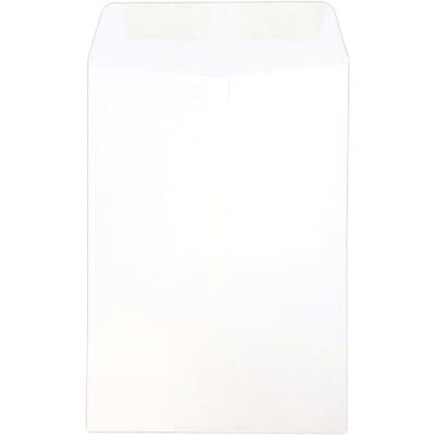 JAM Paper® 7.5 x 10.5 Open End Envelopes, White, 25/pack (4120)