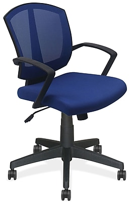 OfficeSource 201BLU Sprint Series Task Chair with Arms