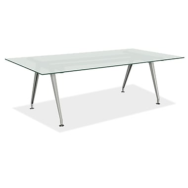 Superb OfficeSource 72u0027u0027 Rectangular Conference Table, Frosted Glass  (GT7245REFROSTED)