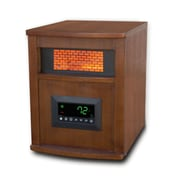 LifePro Infrared 6 Element Cabinet Space Heater, Metal or Wood