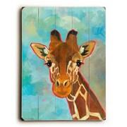 Artehouse LLC Giraffe by Cory Steffen Graphic Art Plaque