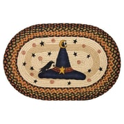 EarthRugs Witch Hat Printed Oval Area Rug; Oval 1'8'' x 2'6''