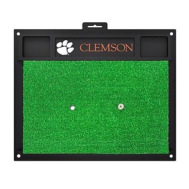 FANMATS NCAA Clemson University Golf Hitting Mat