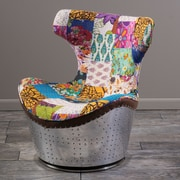 Home Loft Concepts Frazier Swivel Balloon Chair