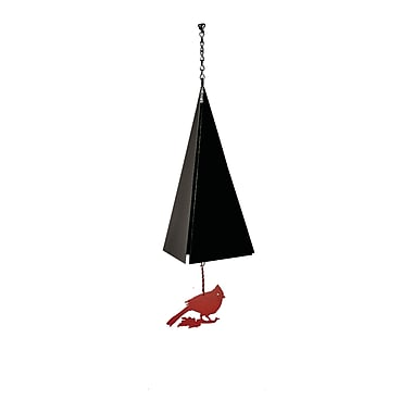 North Country Wind Bells Original and Authentic Maine Nantucket Wind Bell w/ Cardinal Windcatcher