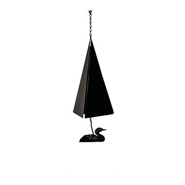 North Country Wind Bells Original and Authentic Maine Nantucket Wind Bell w/ Loon Windcatcher