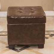 Bellasario Collection Elegant Storage Cube Ottoman