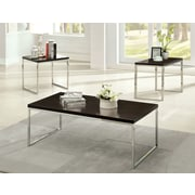 Hokku Designs Howie Retro 3 Piece Coffee Table Set