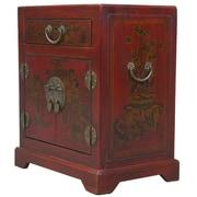 EXP D cor Handmade Oriental Antique End Table