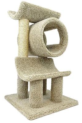 New Cat Condos 33'' Cat Perch; Beige
