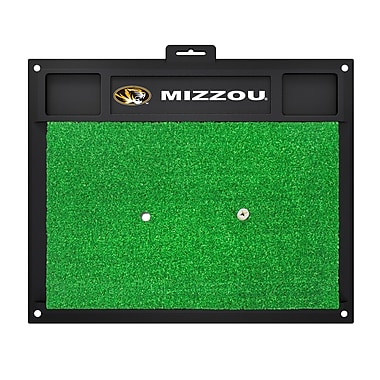 FANMATS NCAA University of Missouri Golf Hitting Mat