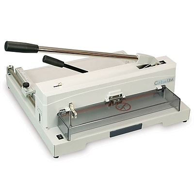 Formax® CUT-TRUE 13M Manual Guillotine Cutter with LED Laser Line